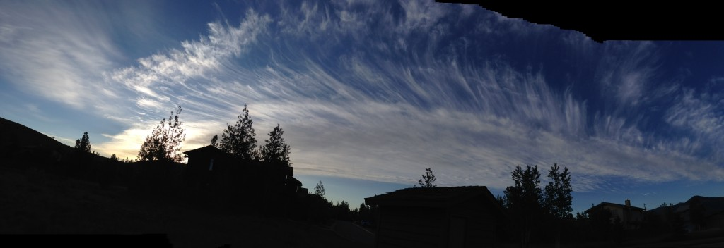 Mare's tails